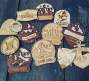 Производство сувенирной продукции из фанеры огр стекла на заказ.